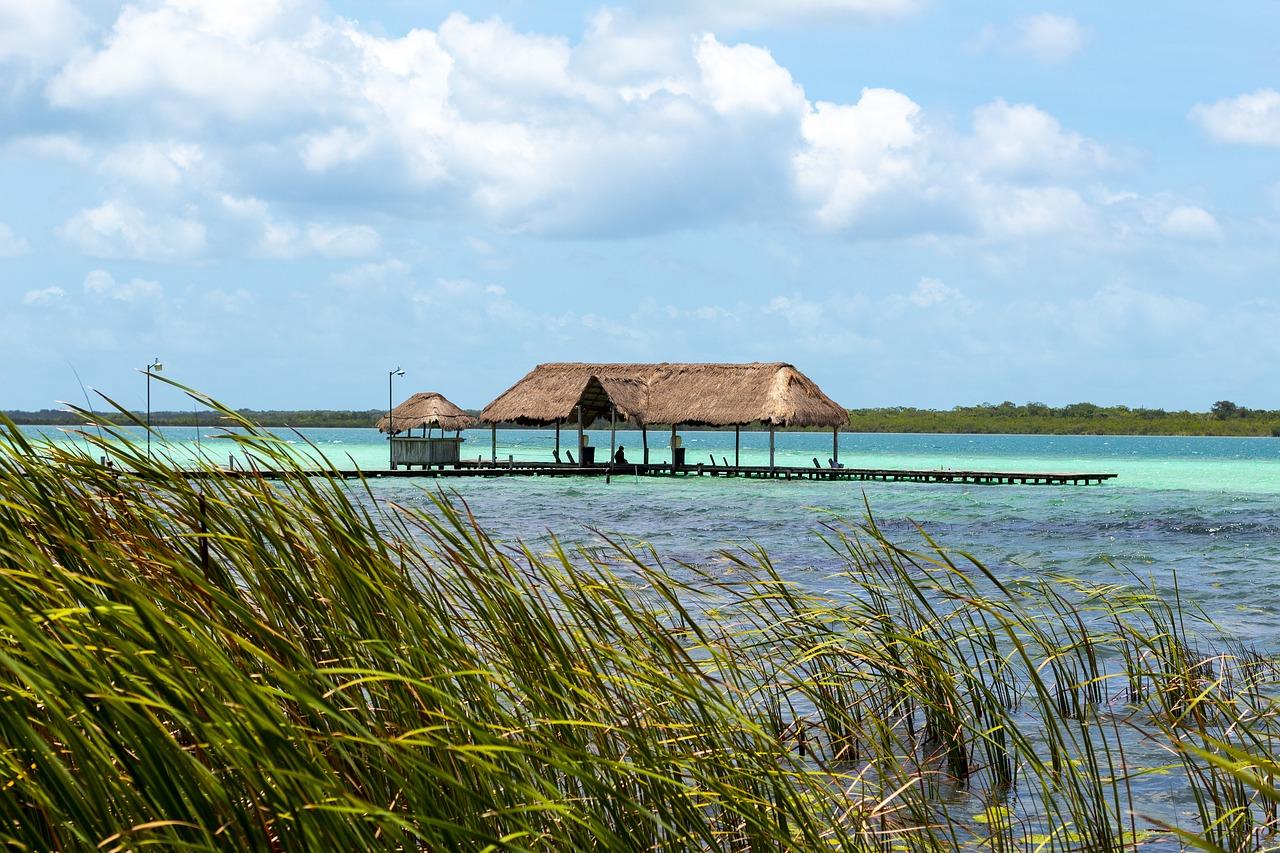 lac bacalar mexique