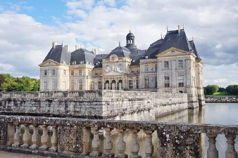 Le château de Vaux-le-Vicomte en France
