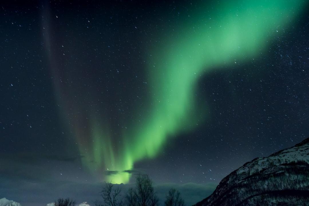 Groenland aurore boreale